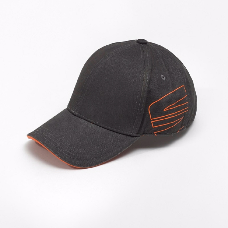Cap, antracit/orange